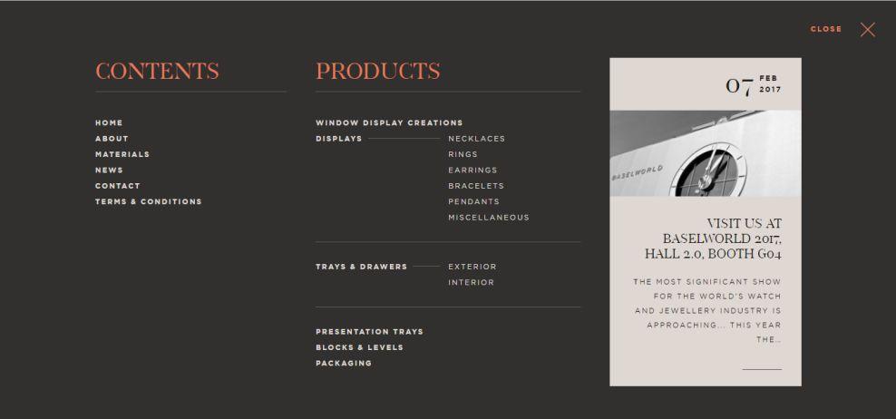 Packaging Papazian Amazing Menu Design