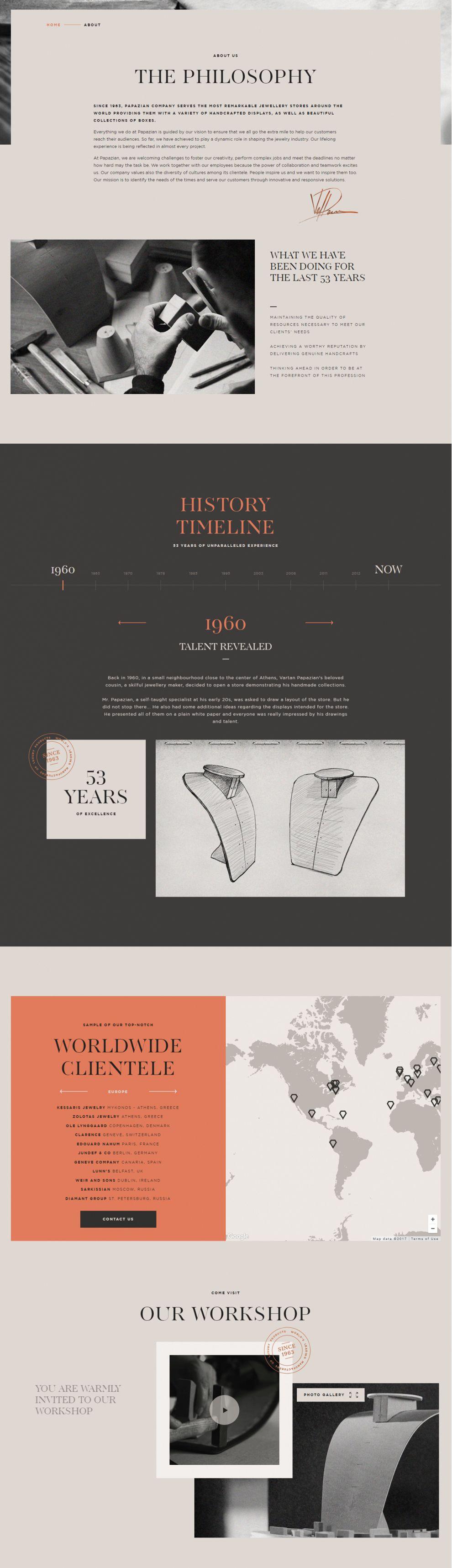 Packaging Papazian Amazing Website Design