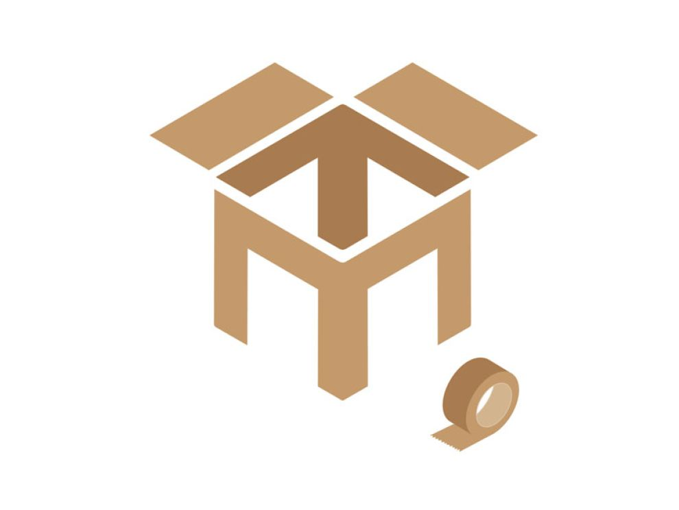 Townsend Mccormack Geometric Logo Design