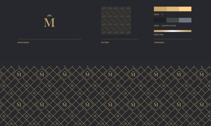 Montreux Great Logo Design