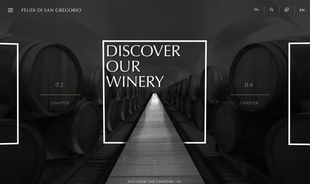 Feudi di San Gregorio Online Journey
