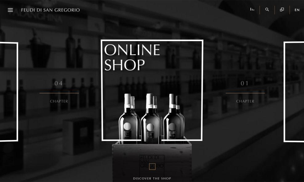Feudi di San Gregorio Online Shop
