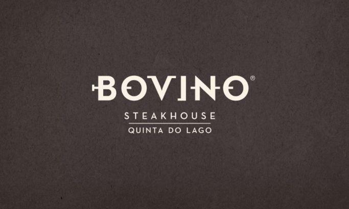 Bovino Steakhouse Bold Logo Design