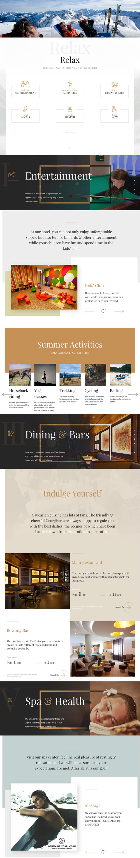 Marco Polo Hotel Beautiful Website Design