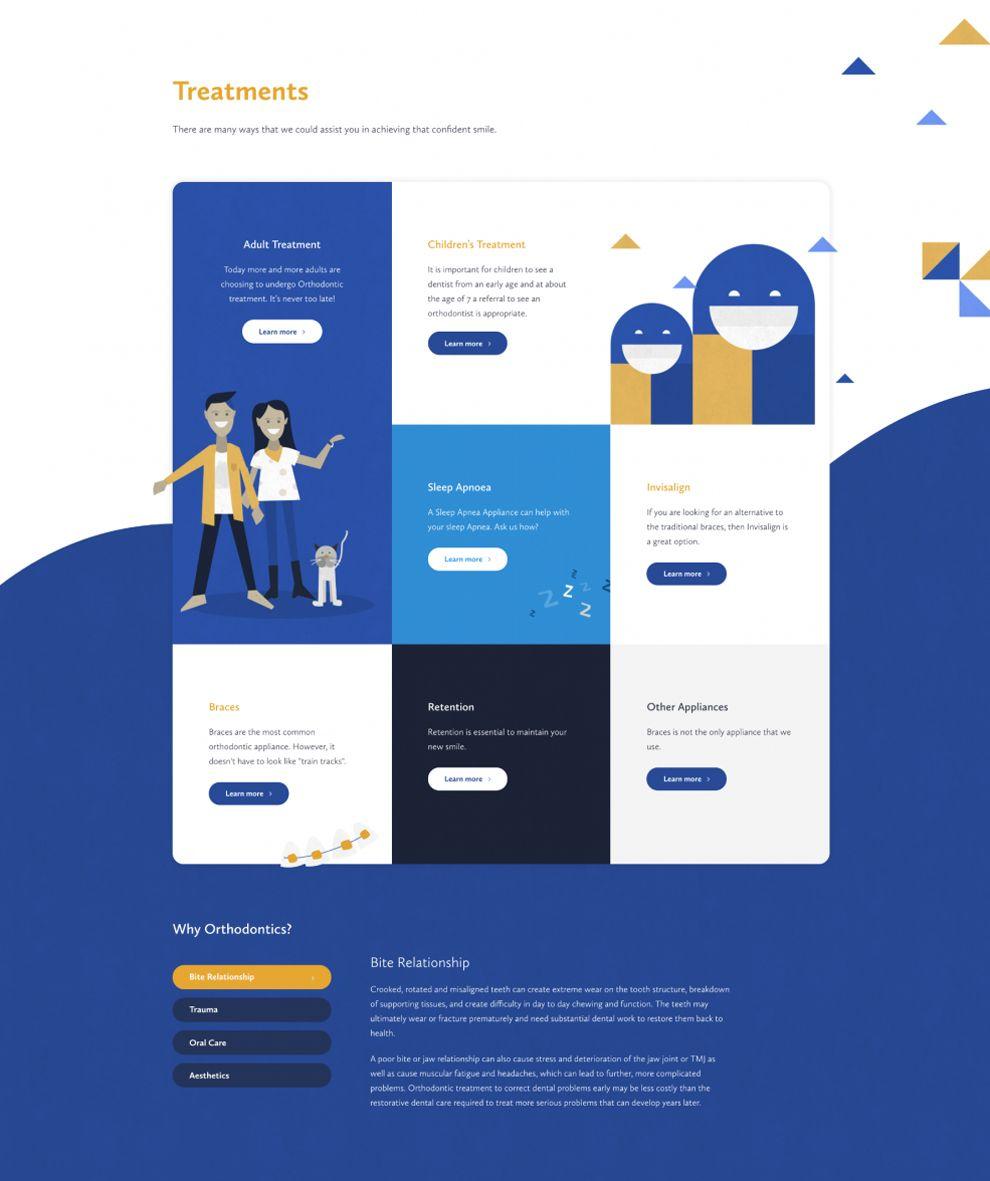 Orthodontic Network in Adelaide Amazing Website Design