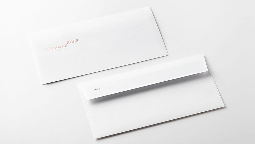 Mireia Ferrer Minimal Print Design