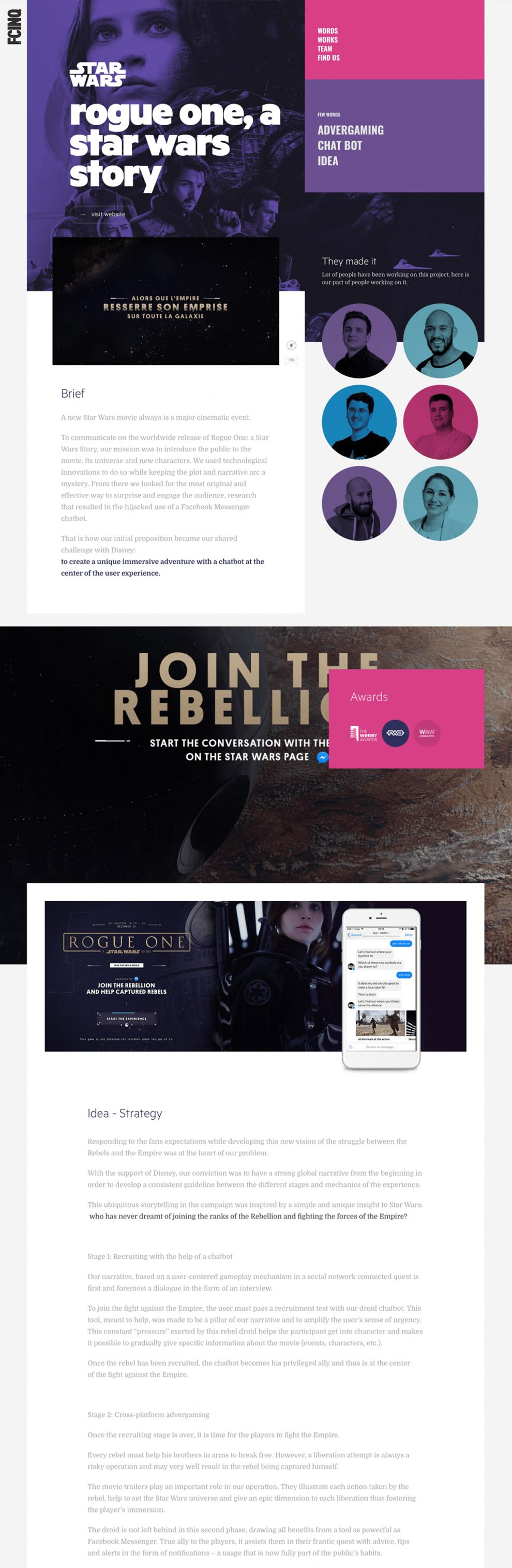 FCINQ Beautiful Project Page