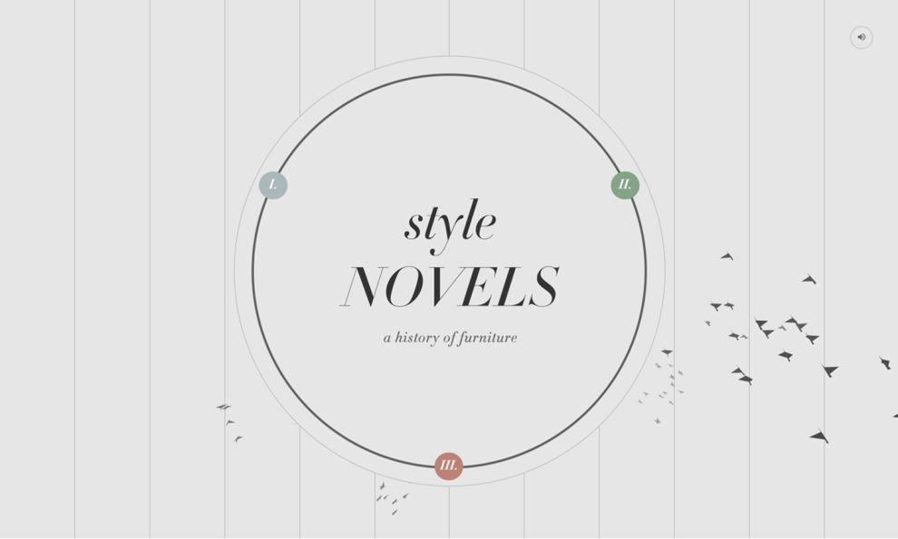 Style Novels Creative Homepage
