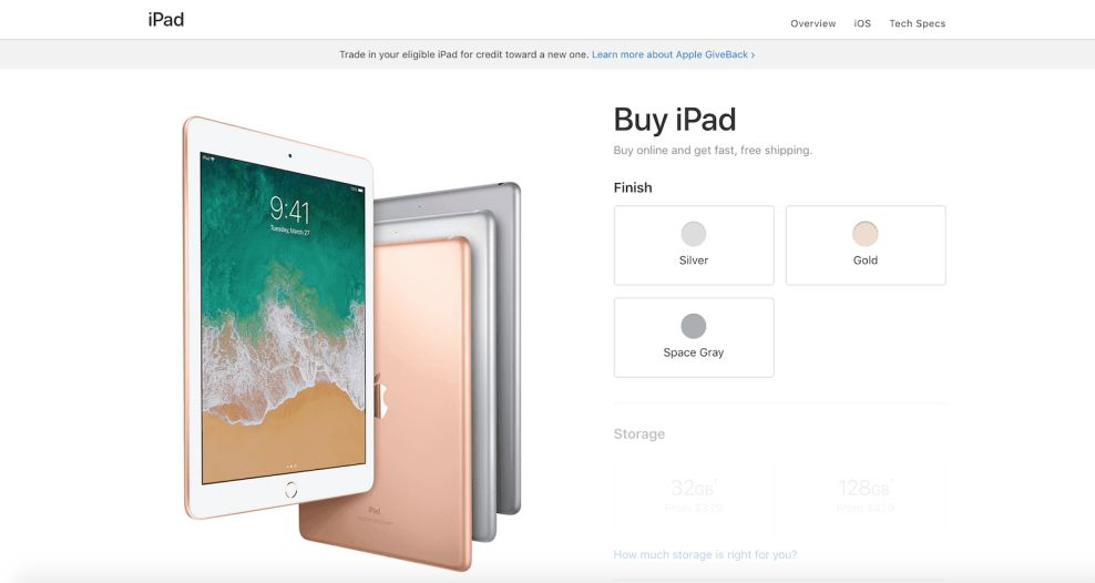 Apple Top Website Design