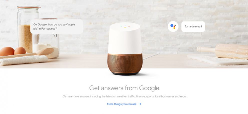 Made By Google Clean Website Design Encourages User Interaction