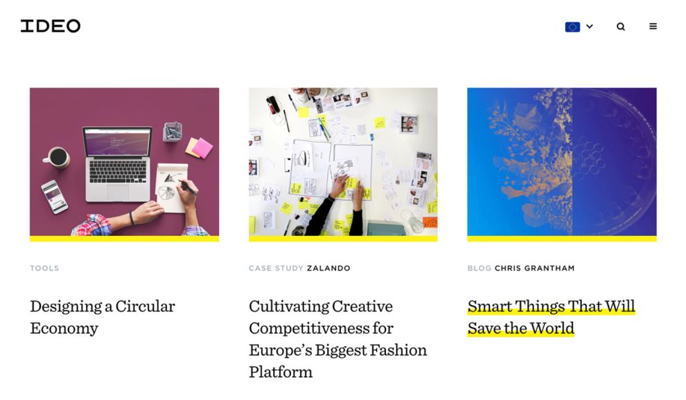 Ideo Corporate News Page