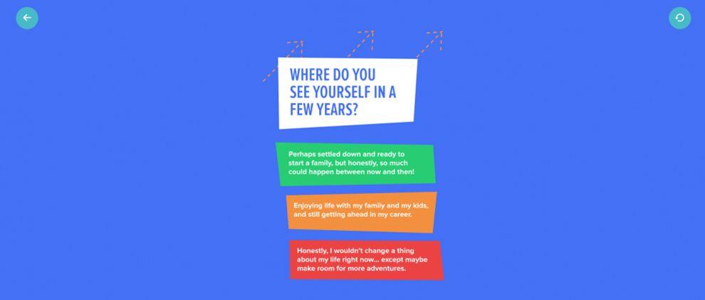Bustle Colorful Website Design