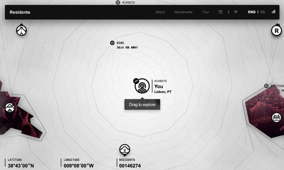 Residente Creative Website Design