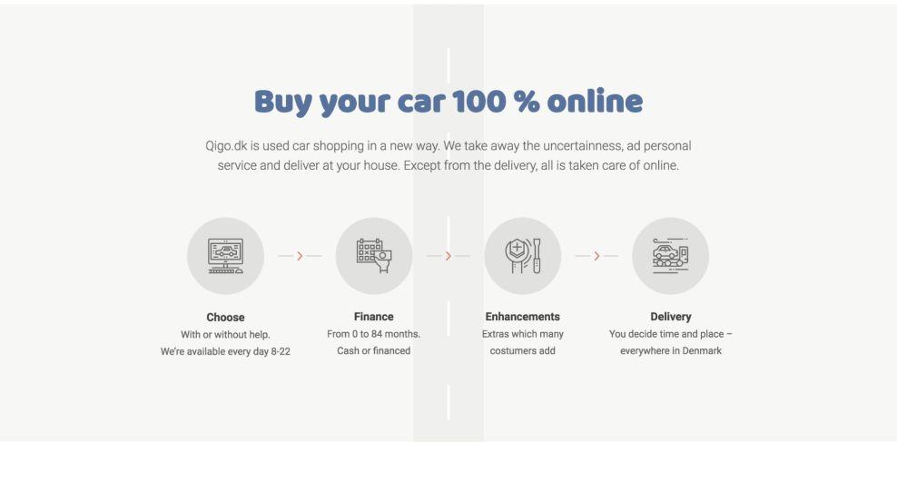 Qigo Clean Website Design