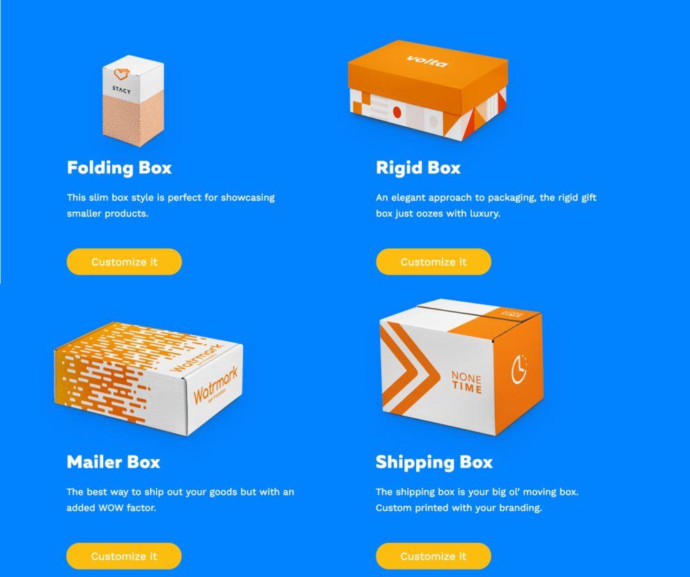 PackWire Playful Website Design