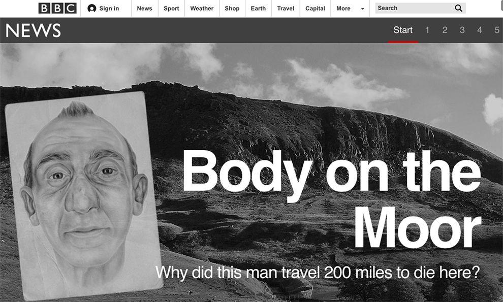 BBC News Great Homepage