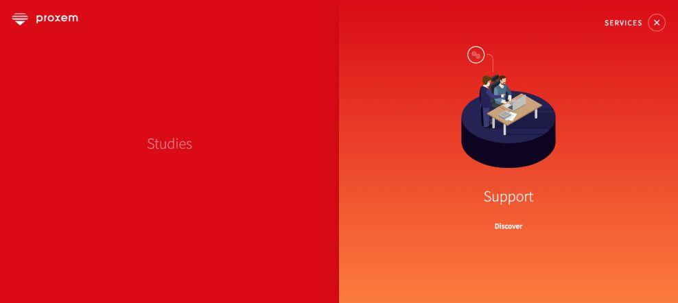 Proxem Amazing Website Design