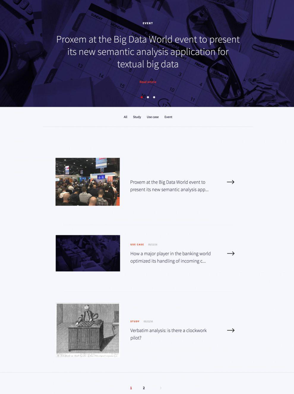 Proxem Amazing Blog Page
