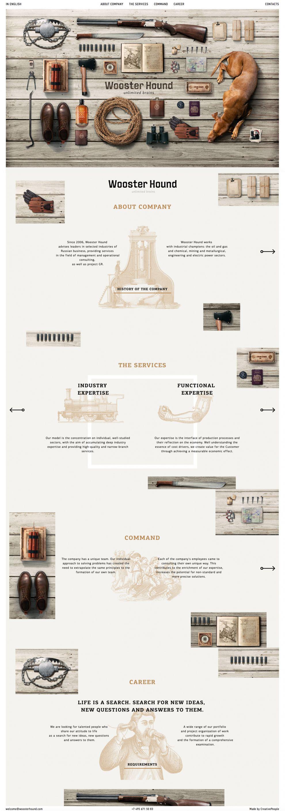 WoosterHound Creative Website Design