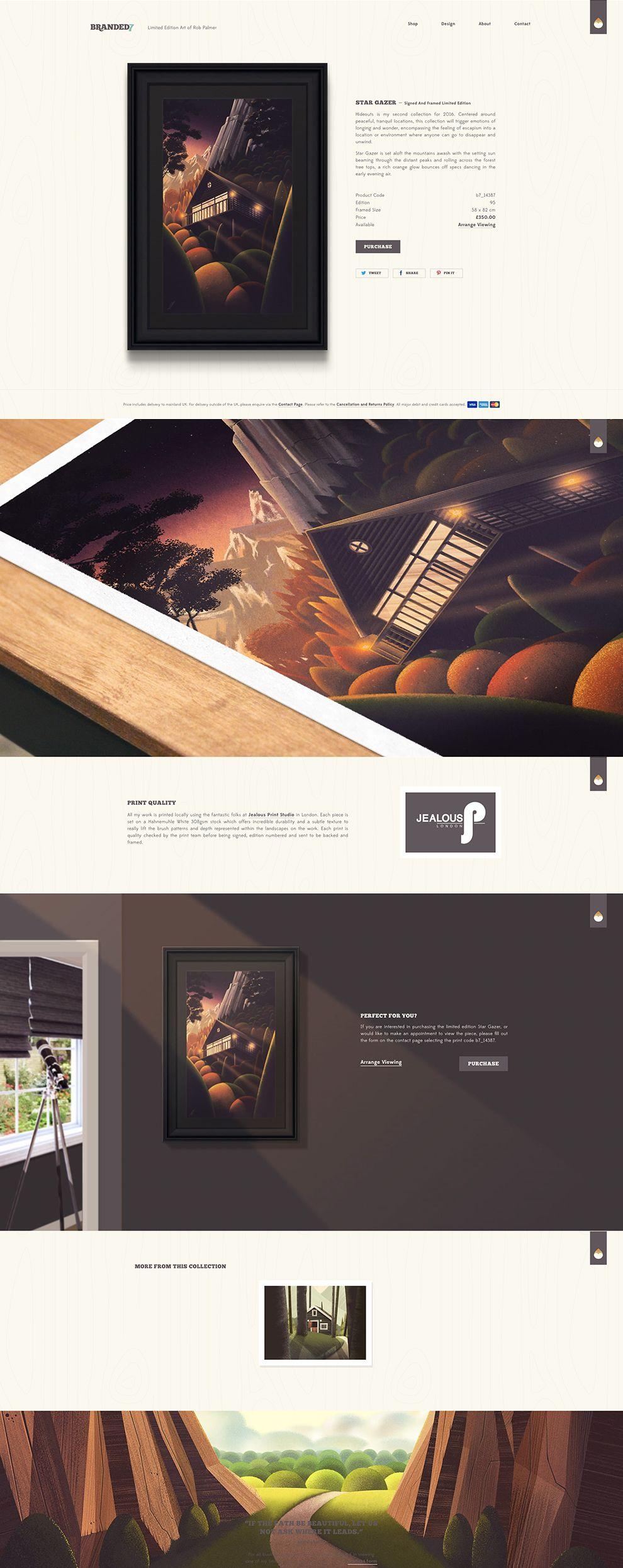 Branded7 Elegant Website Design