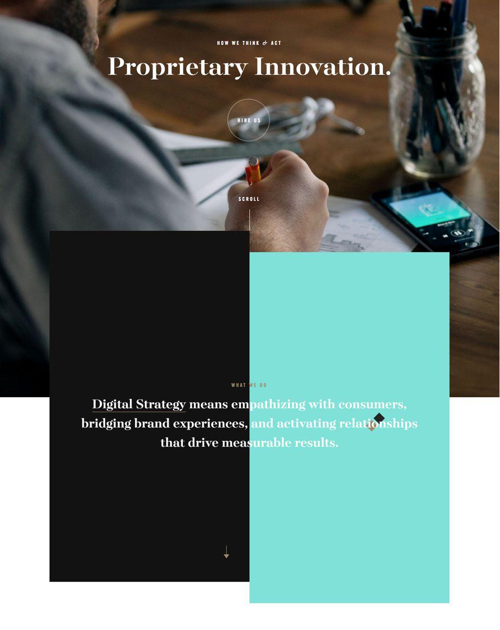 Brave People Elegant Website Design