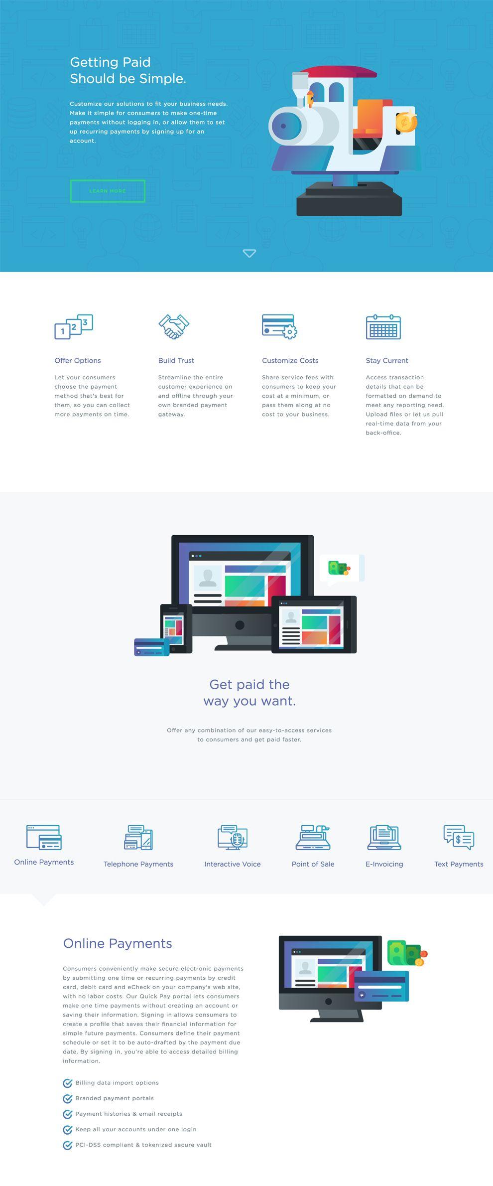 Pay N Seconds Creative Website Design