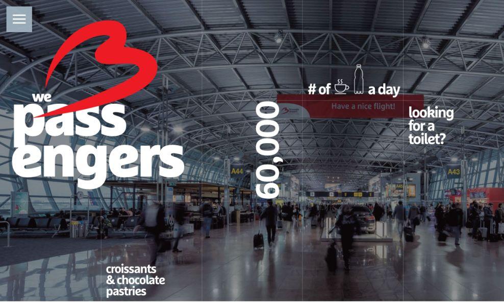 Brussels Airport Amazing Website Design