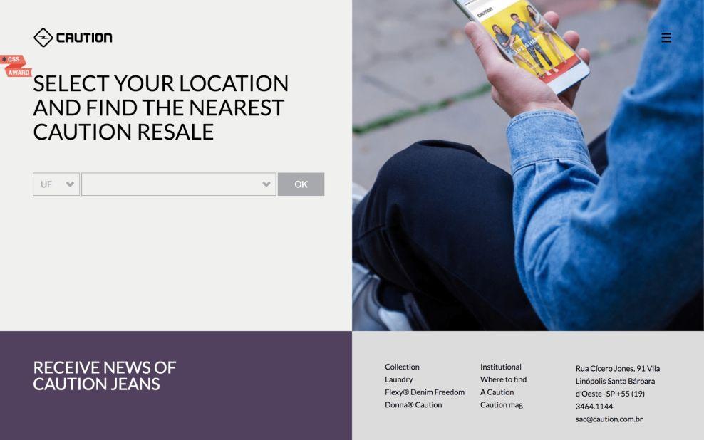 Caution Beautiful Website Design