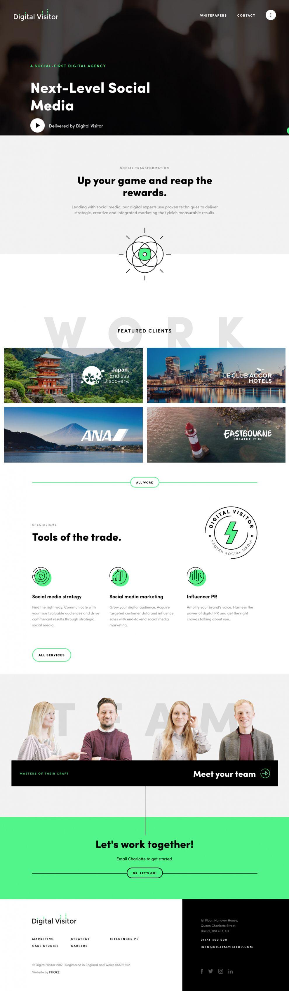 Digital Visitor Amazing Homepage