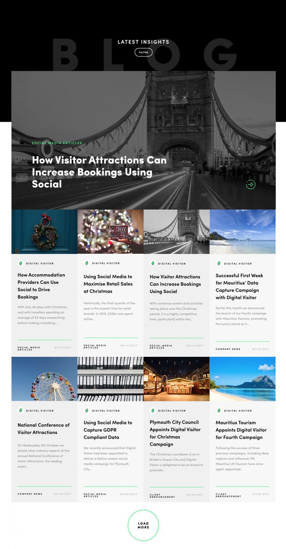 Digital Visitor Amazing Website Design