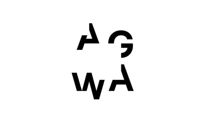 AWGA Typography Logo Design