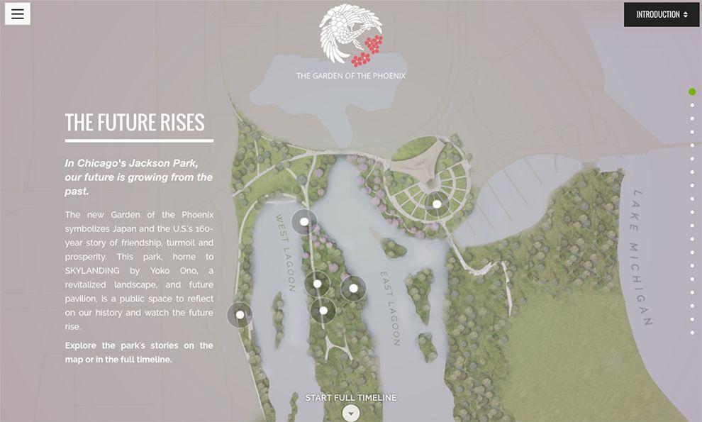 Garden of The Pheonix Beautiful Website Design