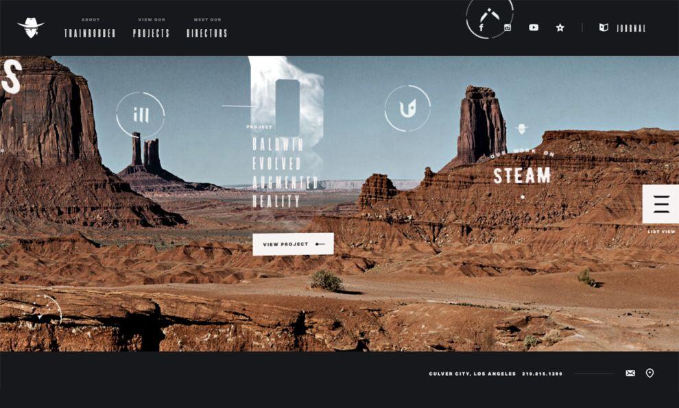 Trainrobber Creative Homepage