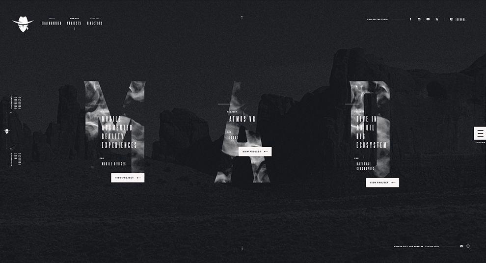 Trainrobber Creative Website Design