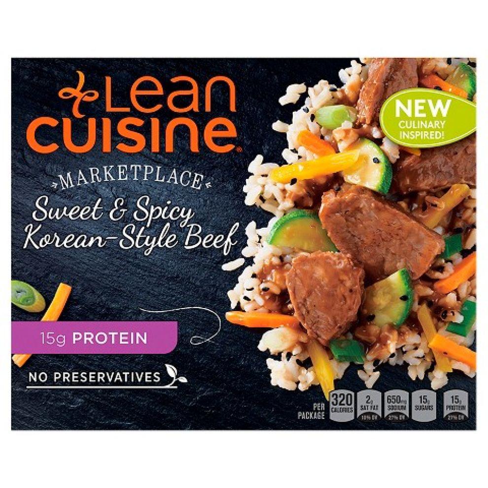 Lean Cuisine Package Design