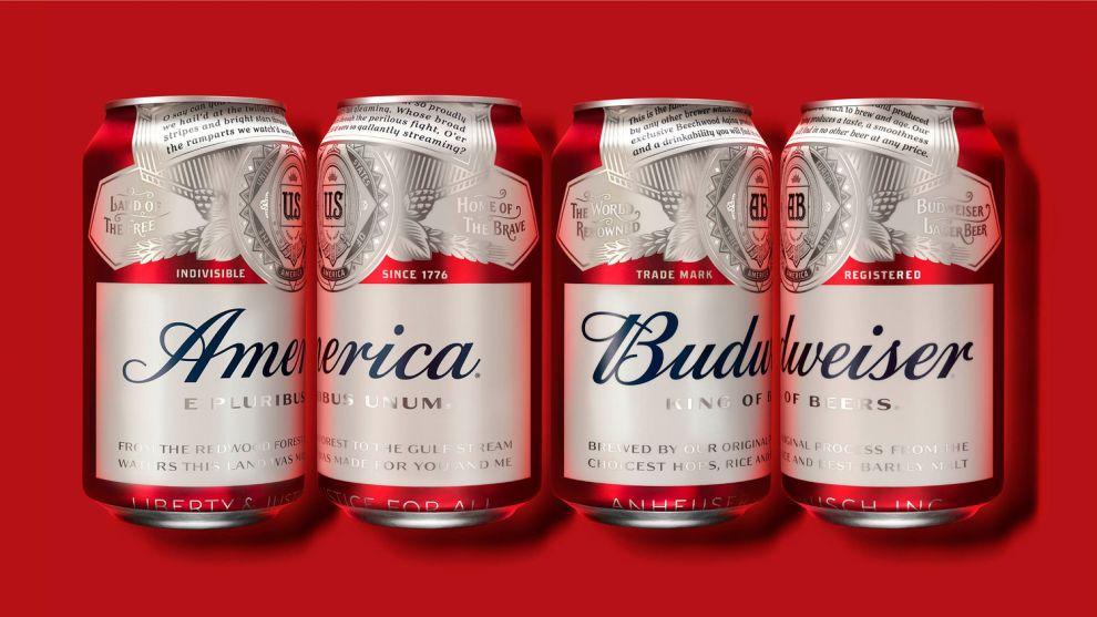Budweiser Package Design