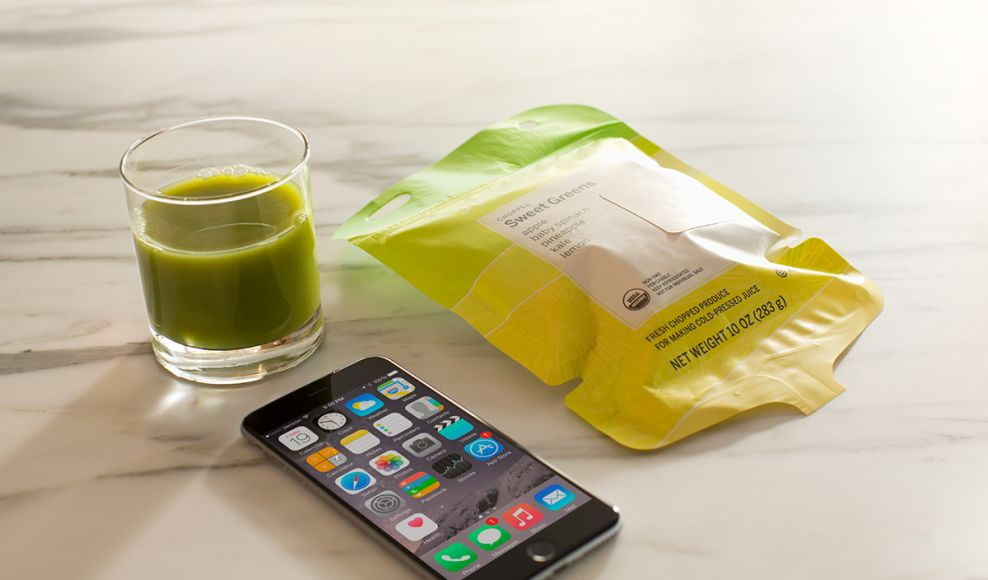Juicero Exciting Package Design