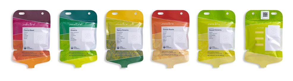Juicero Colorful Package Design