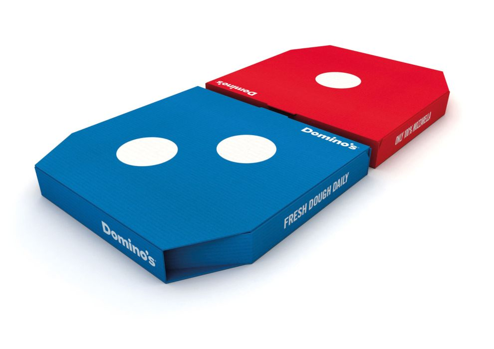 Domino's Bold Package Design