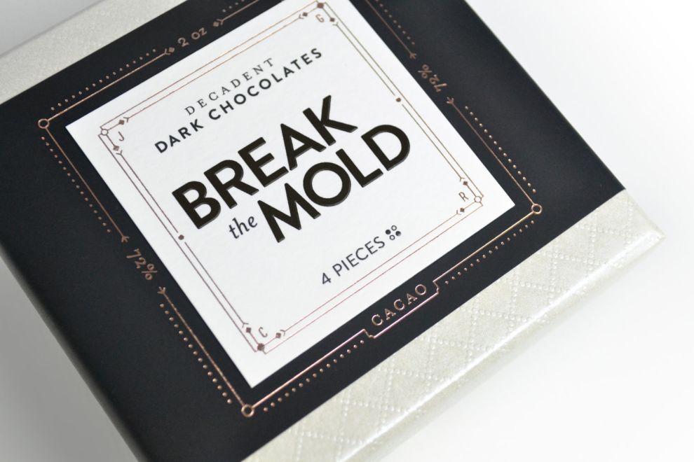 Break The Mold Elegant Package Design