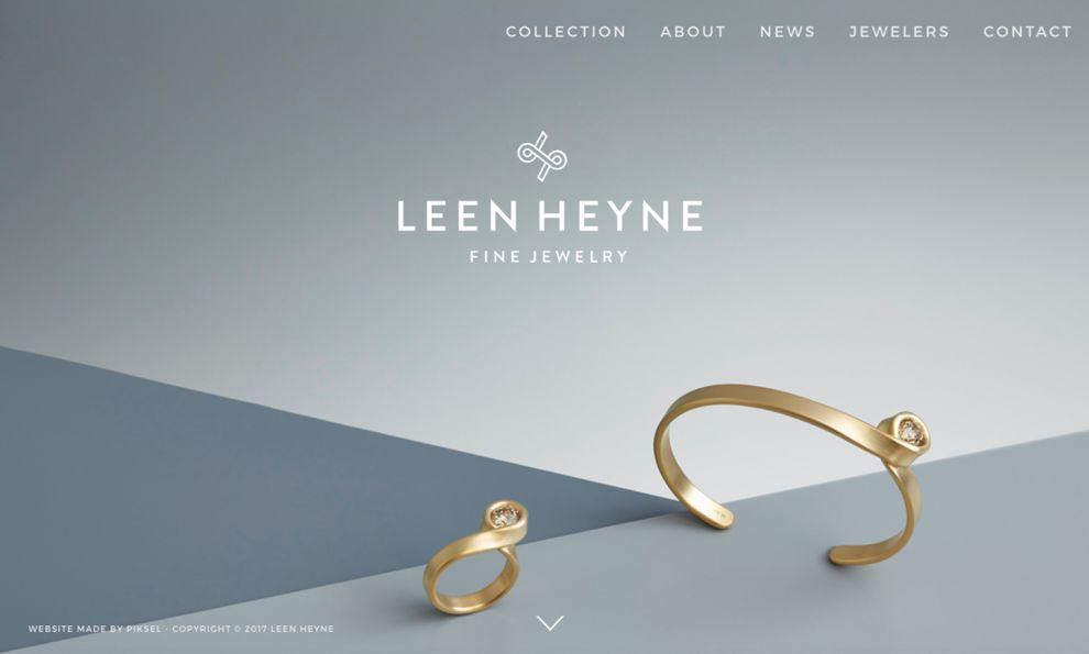 Leen Heyne Amazing Homepage