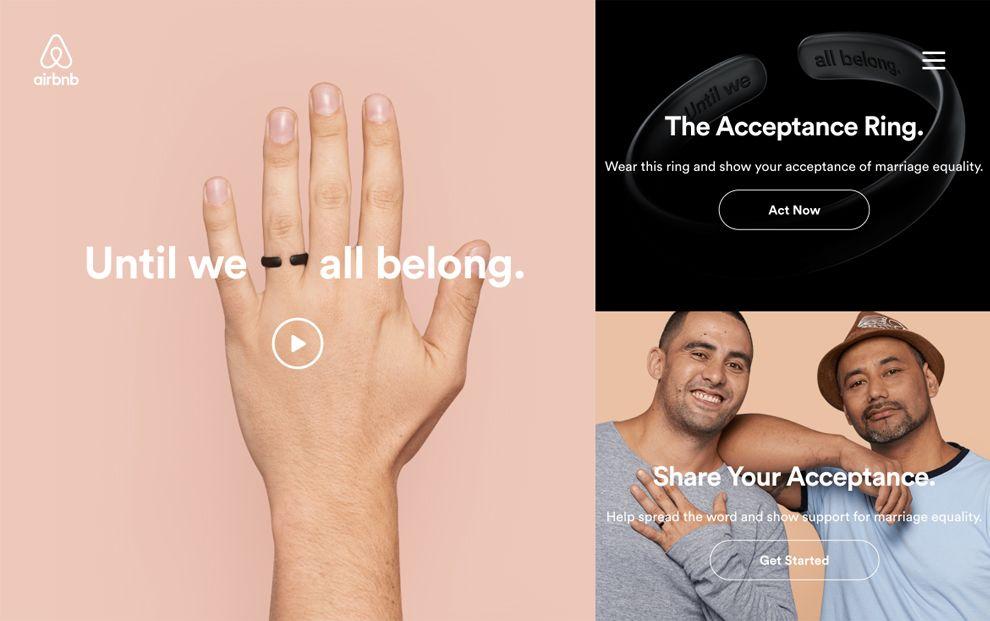 Until We All Belong Minimal Homepage