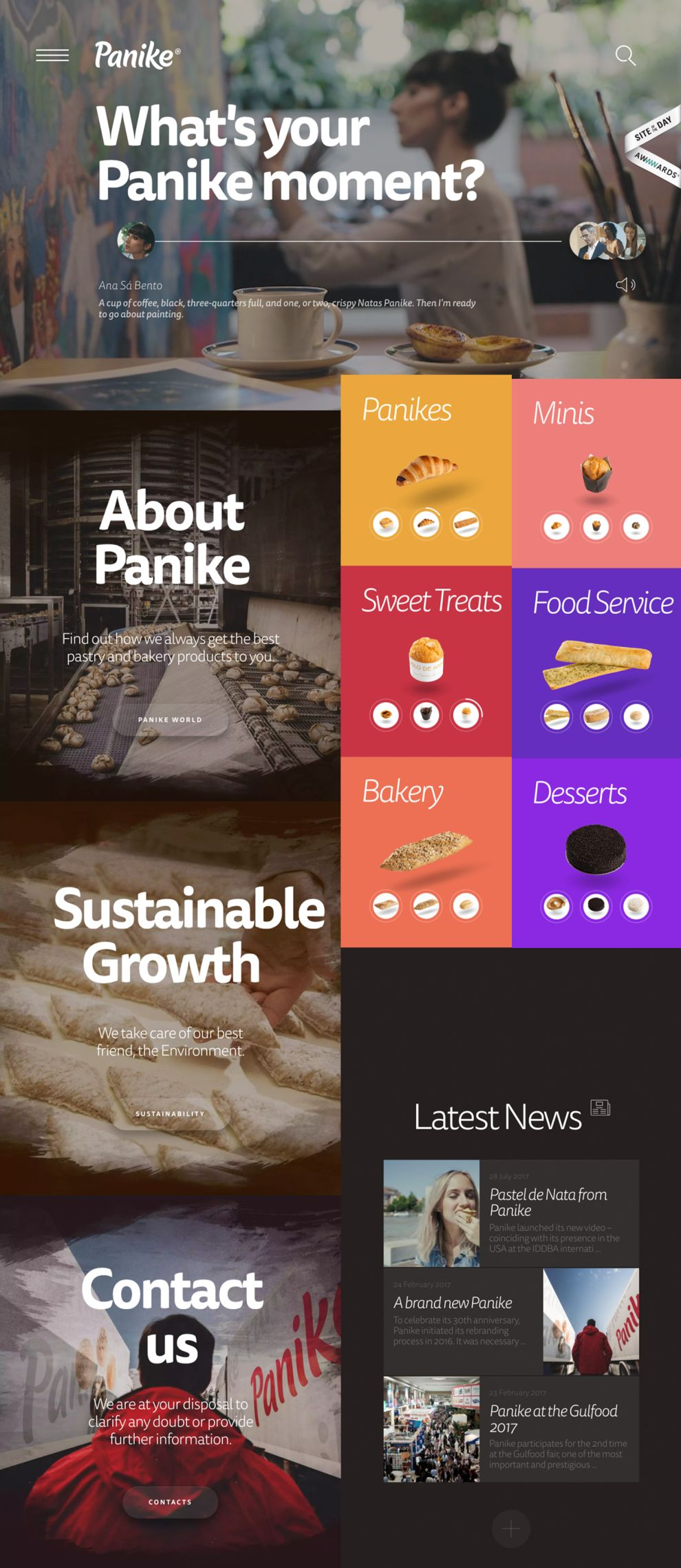 Panike Great Homepage