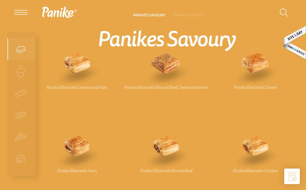Panike Great Product Page