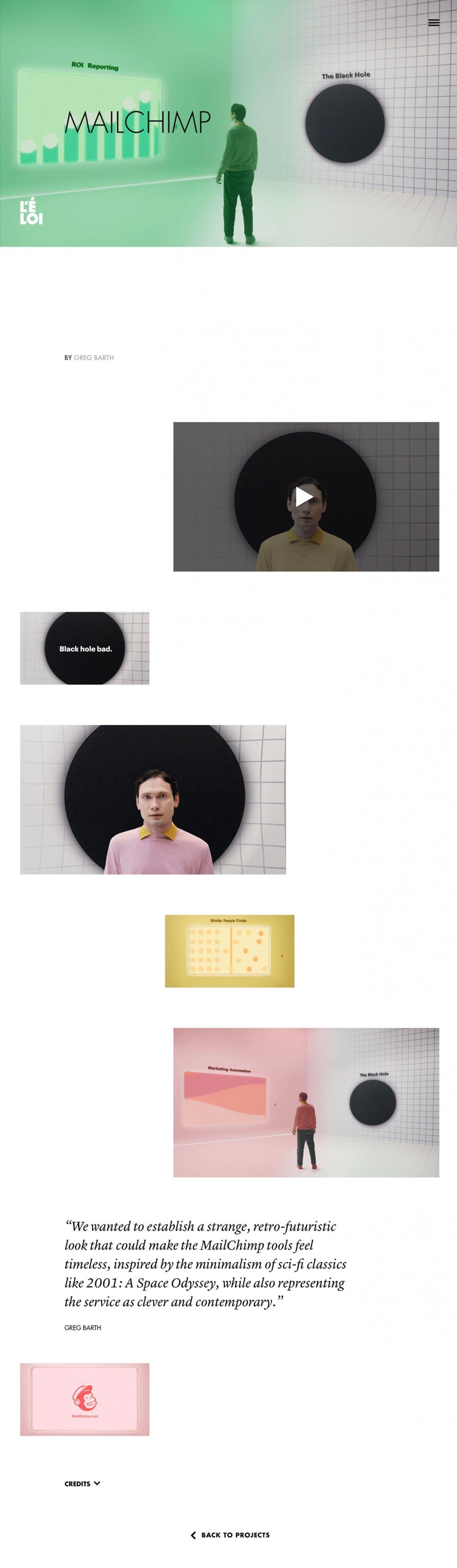 Le Loi Amazing Portfolio Page