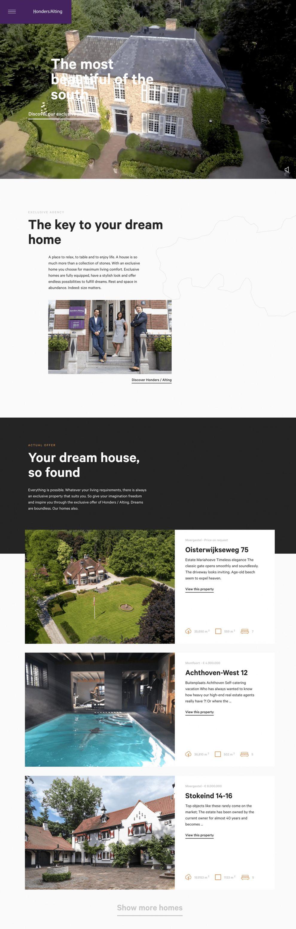 Honders Alting Professional Homepage