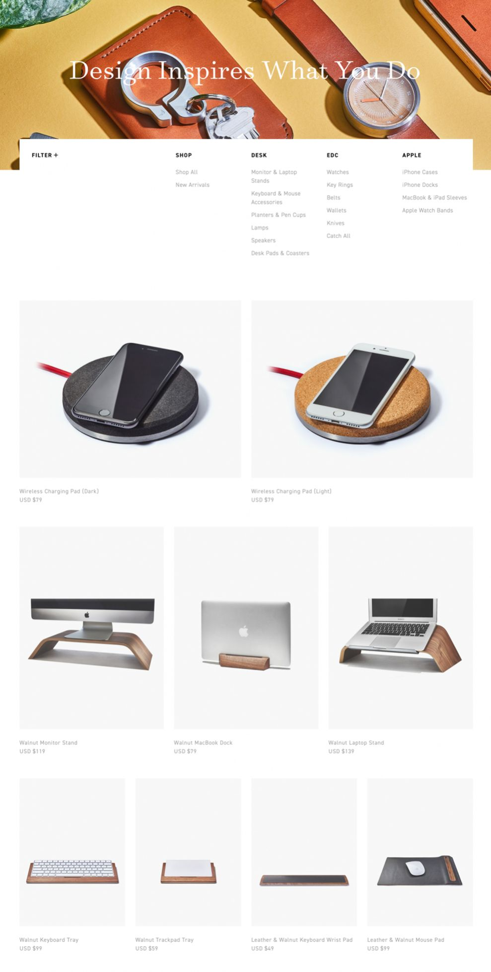 Grovemade Clean Product Page