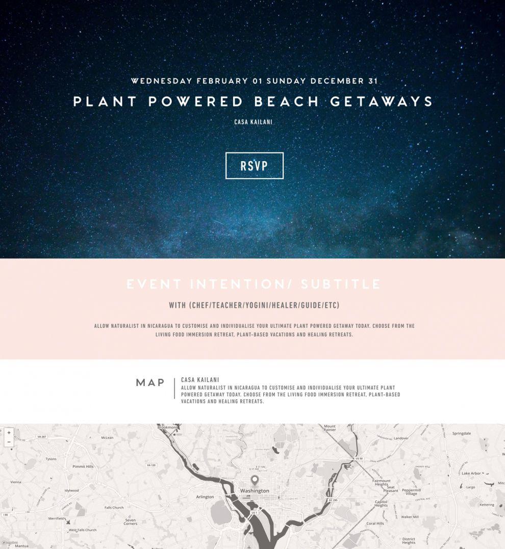 Conscious City Guide Amazing Website Design