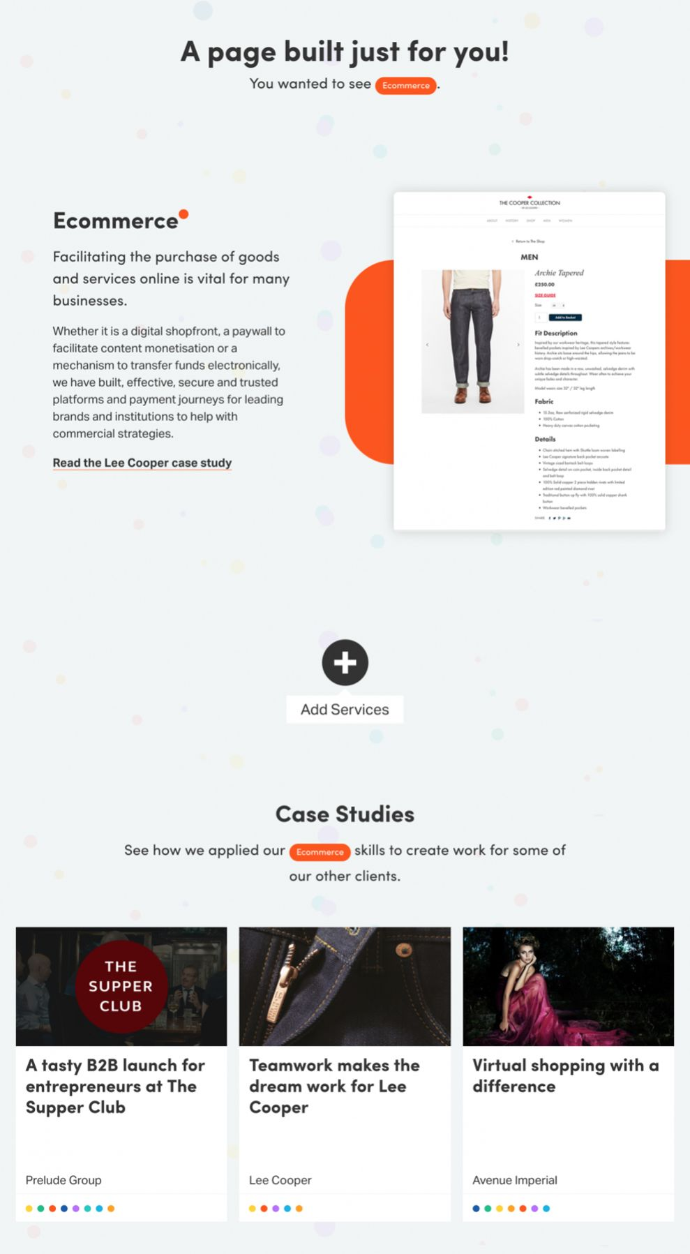 Clock Creative Website Design