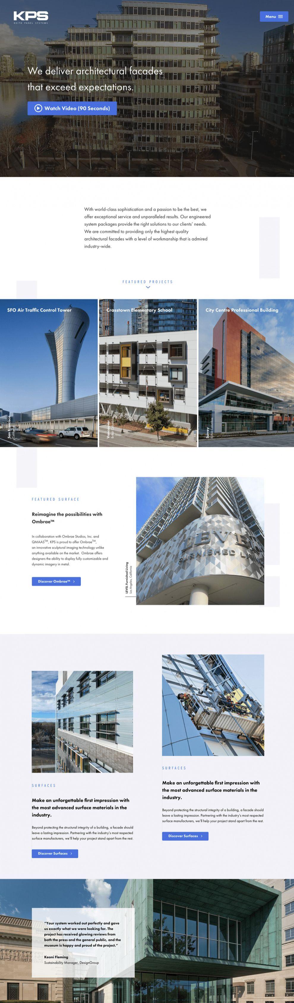 KPS Great Homepage